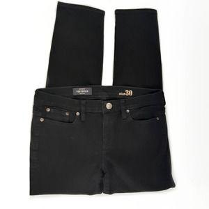 J.CREW Curvy Toothpick True Black Jean for Women